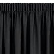 JYSK, Gardin lystett AMUNGEN 1x140x175cm svart, <WEM TEXT0004></WEM> 185,- sjekk prisen