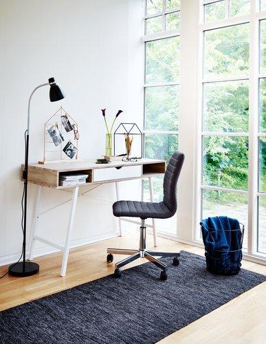 Desk Abbetved Oak White Jysk