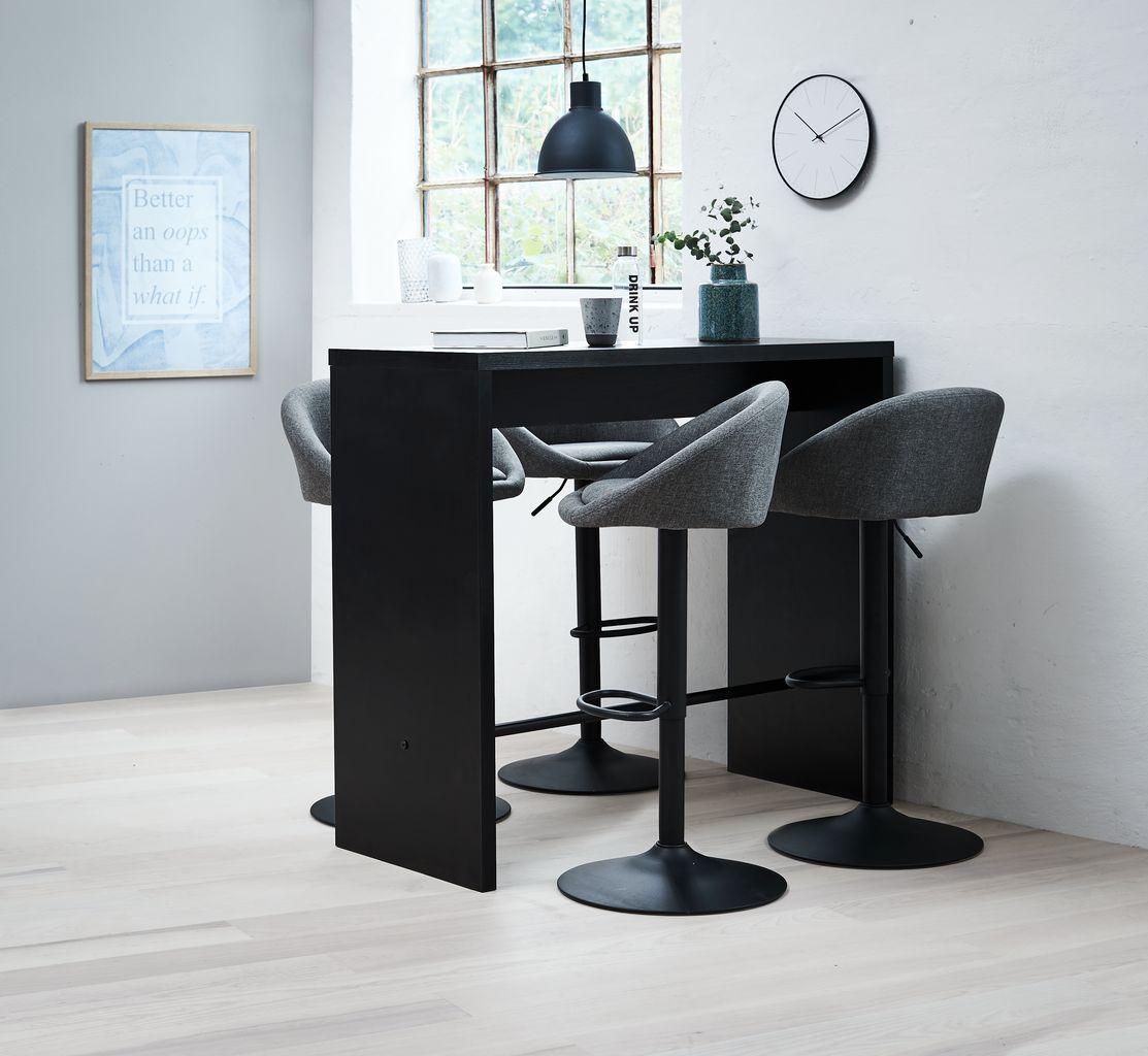Barbord BROHAVE 50x120 svart | JYSK