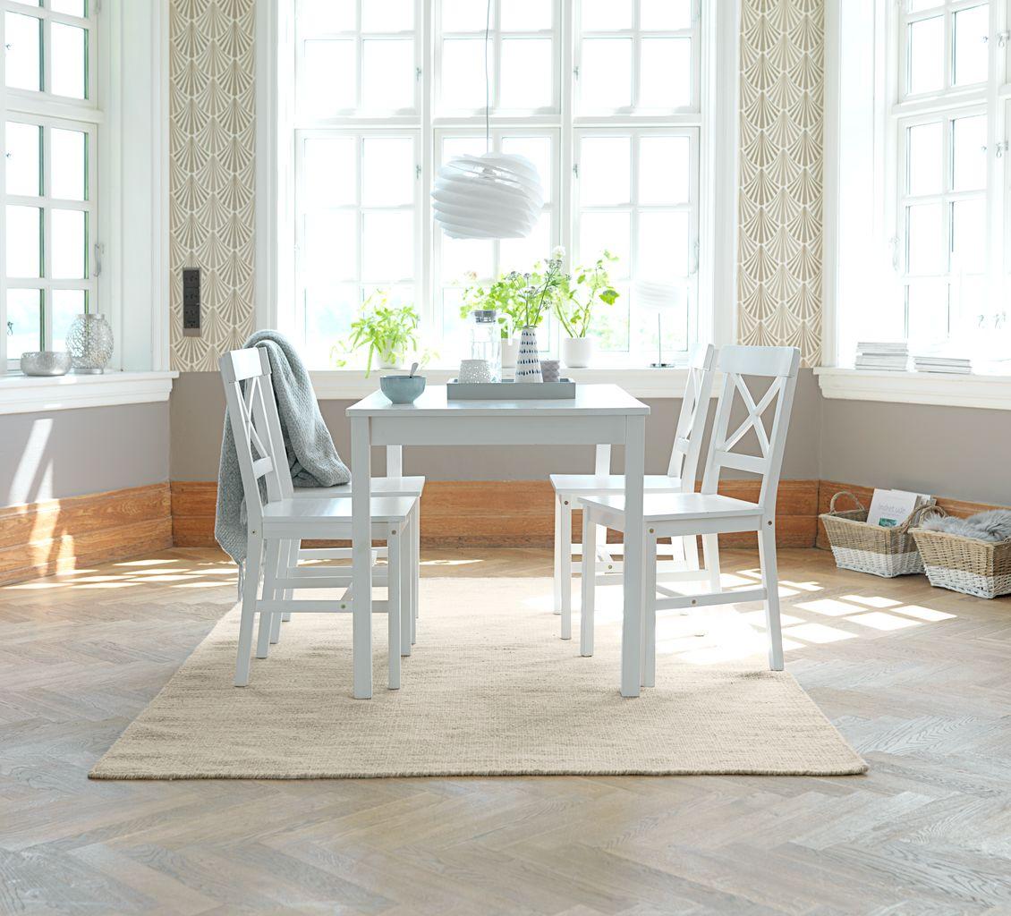 Krzesło Do Jadalni Ejby Białe