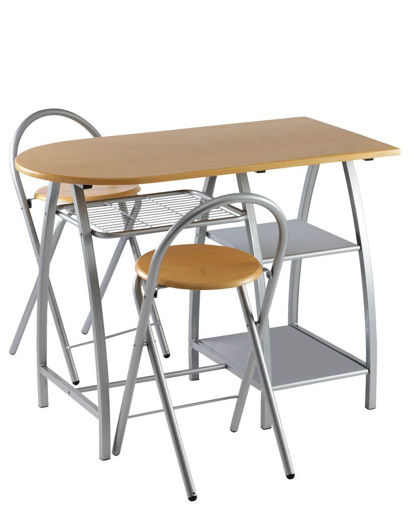 reggeliző asztal 2 székkel