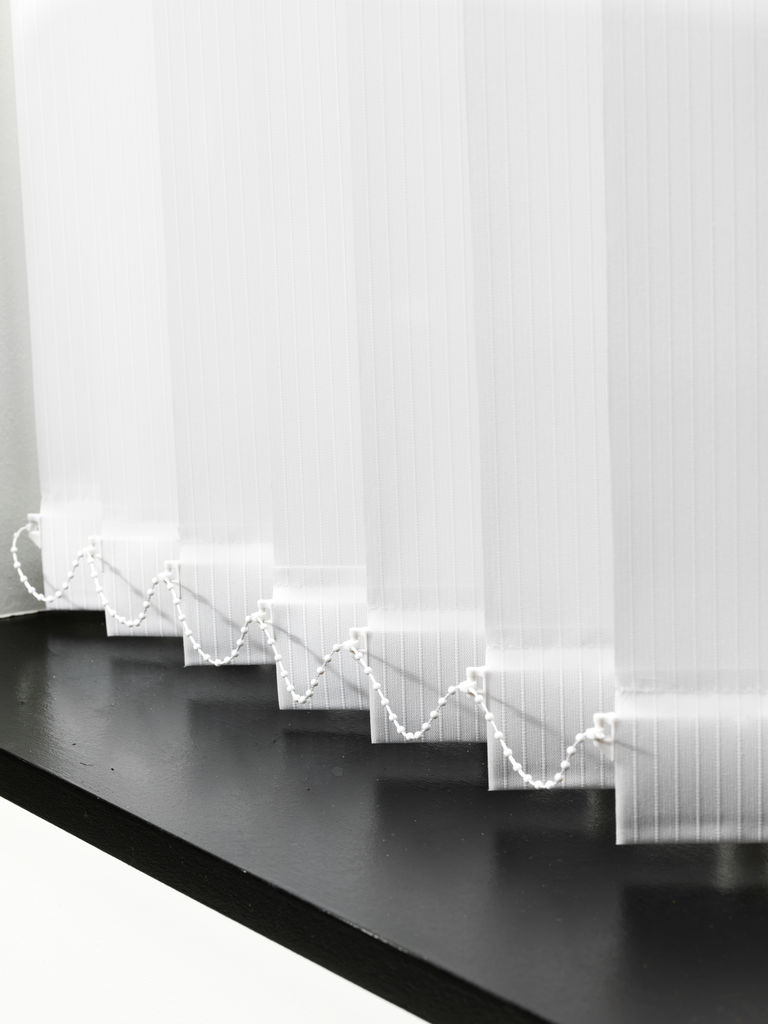 Storslåede Lamelgardin ANDAMMEN 250x250cm hvid | JYSK MI23