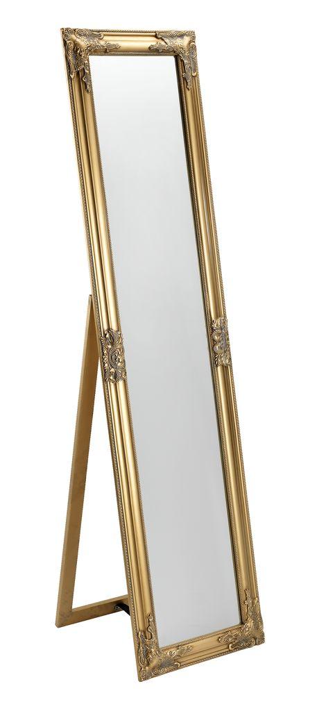 Chłodny Lustro RUDE 40x160cm złote | JYSK PL55
