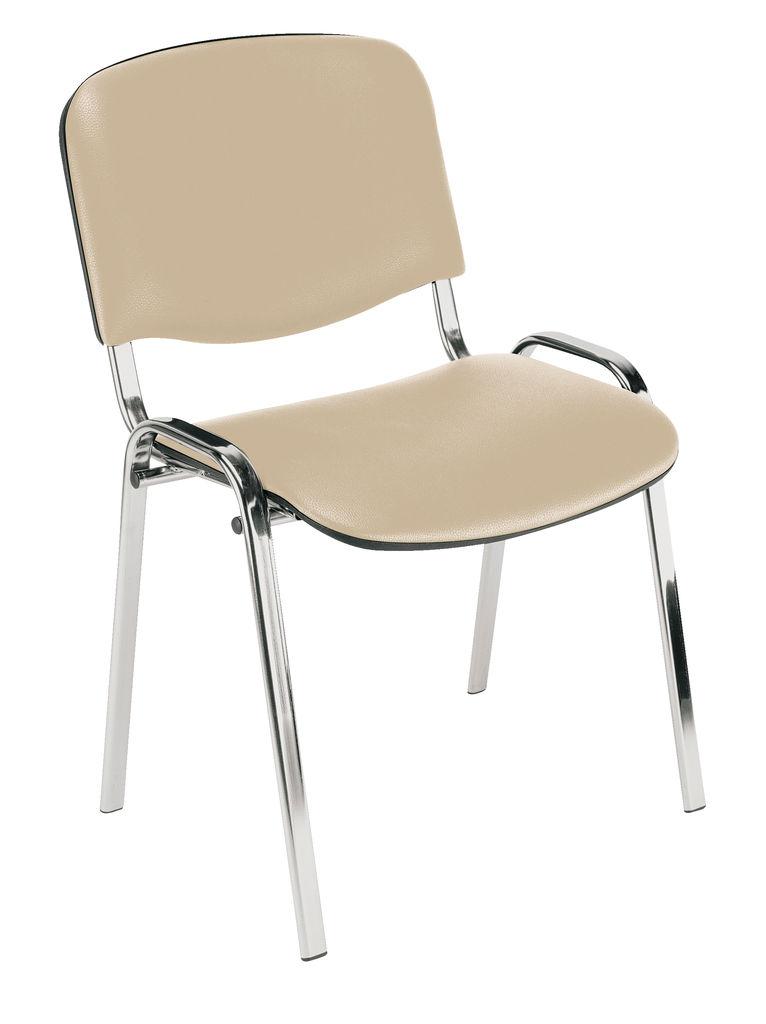 Krzesło Taastrup Beżowechrom