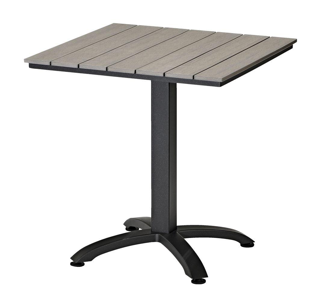 Alvorlig Cafebord HOBRO B70xL70 grå | JYSK KK-13