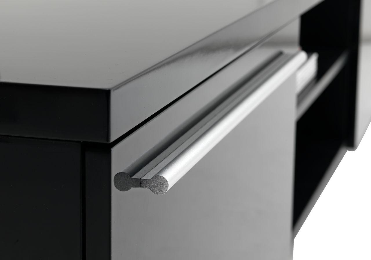 TV bord AAKIRKEBY 2 skuff hvit høyglans | JYSK