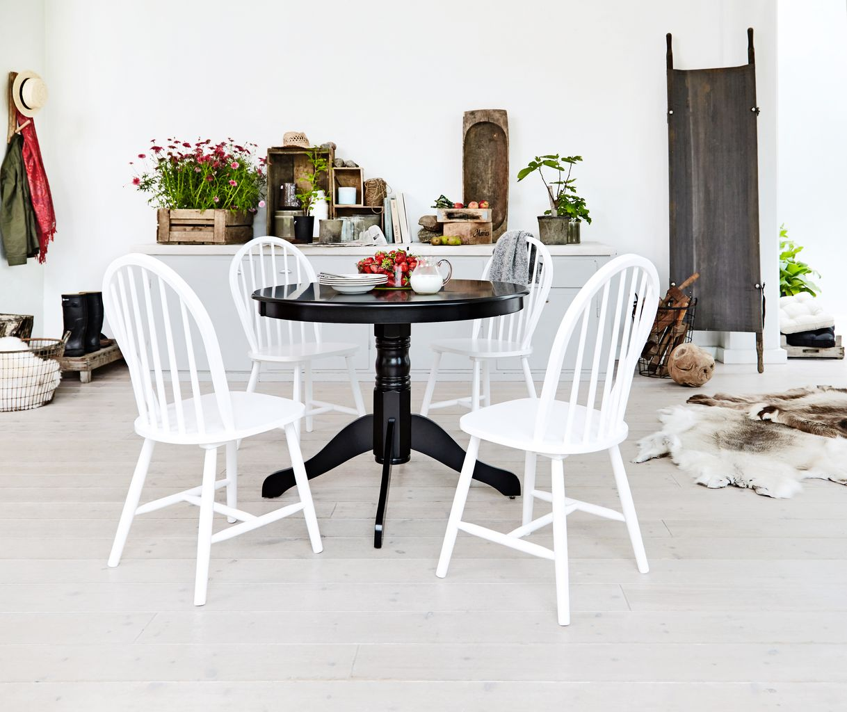 Dining Chair ASKEBY White