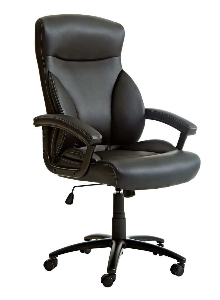 office chair tamdrup memory foam black | jysk