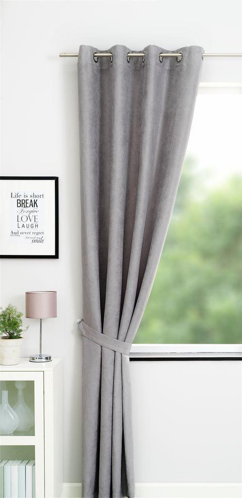 Curtain ANTEN 1x140x245 l. grey | JYSK