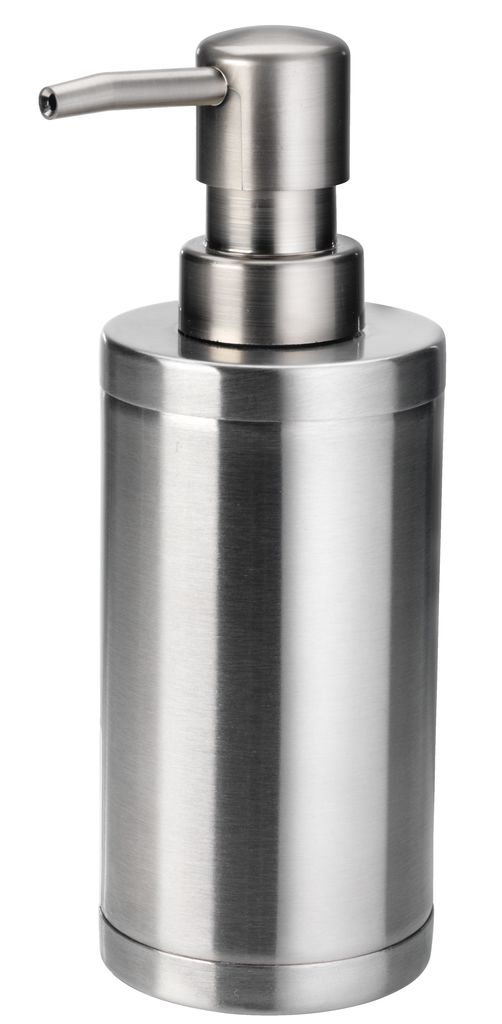 Metal Dispenser Soap Dish Toothbrush Holder Bathroom: Soap Dispenser MEDLE D6xH17cm Metal