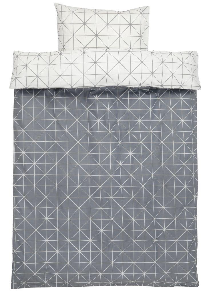 jysk sengetøj Sengesæt ATLA SGL grå | JYSK jysk sengetøj