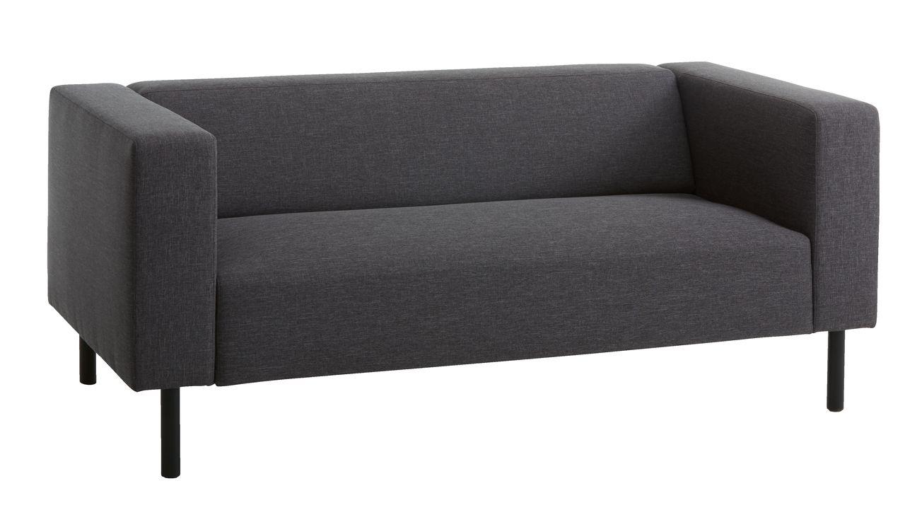 Sofa Karise 2 5 Seater Anthracite Grey Jysk