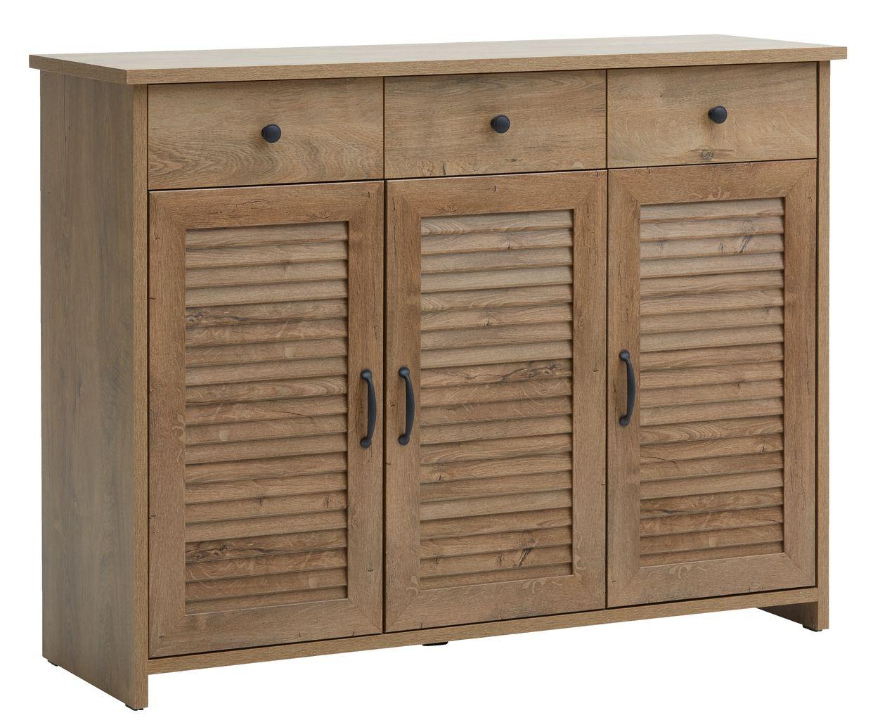 Sideboard Manderup 3doors 3draw Wild Oak Jysk