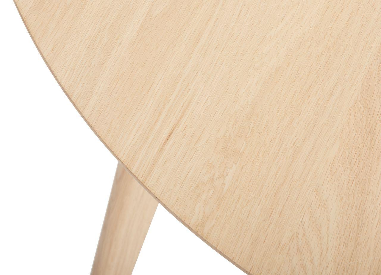 Spisebord KALBY Ø120 lys eik | JYSK