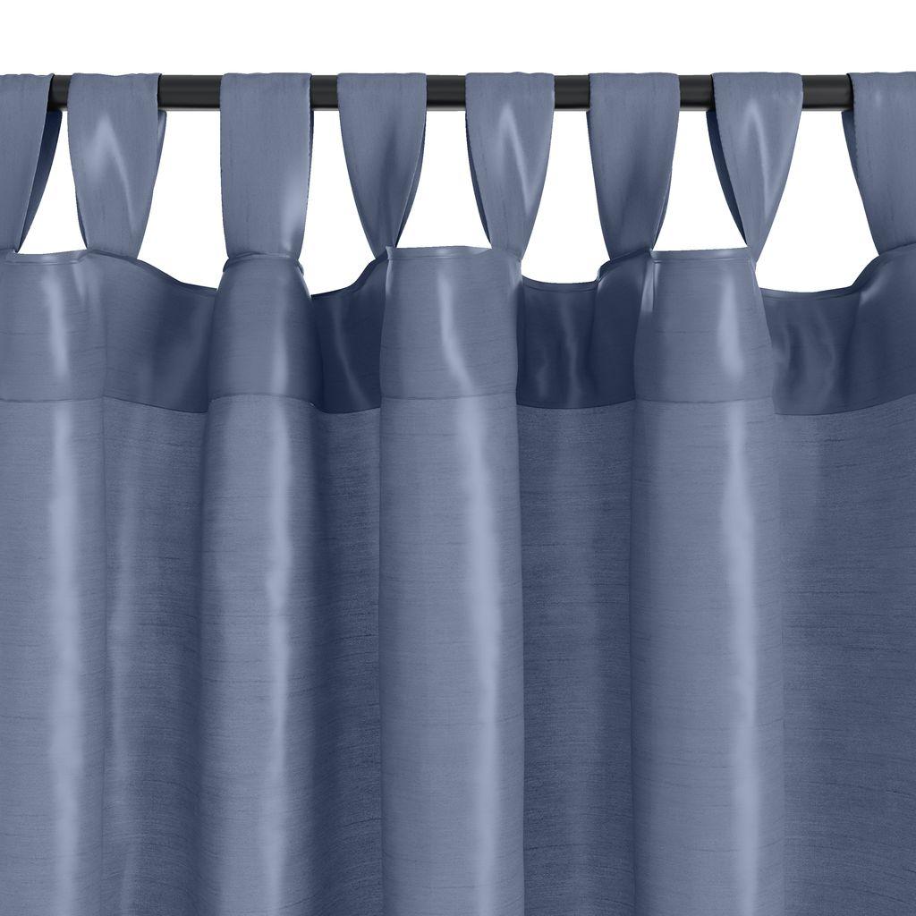 91081801 Gardin LUPIN 1x140x245 silkelook blå | JYSK