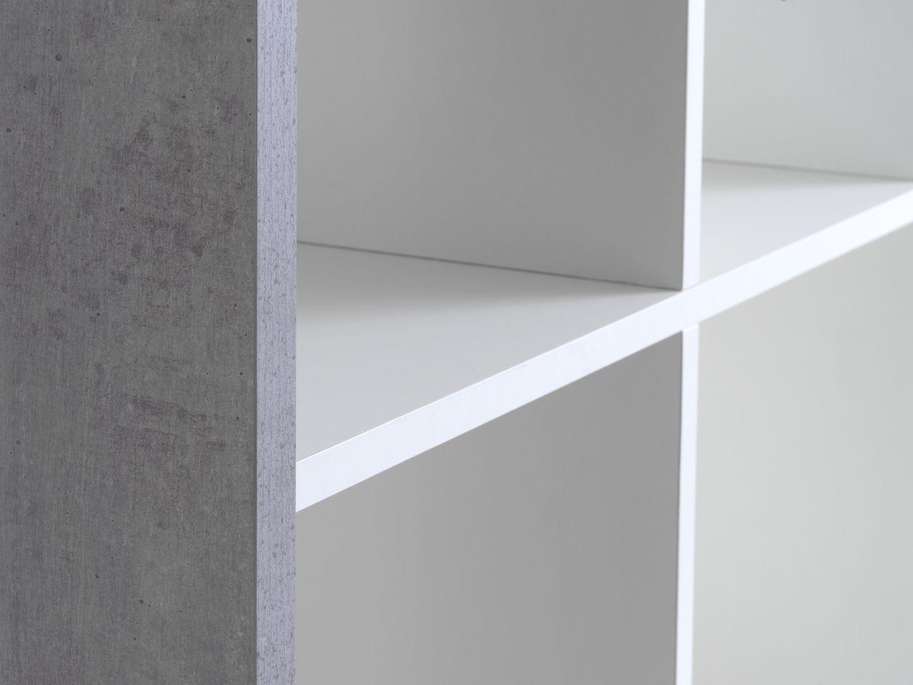 Open Kast Wit : Open kast haldager schap wit beton jysk