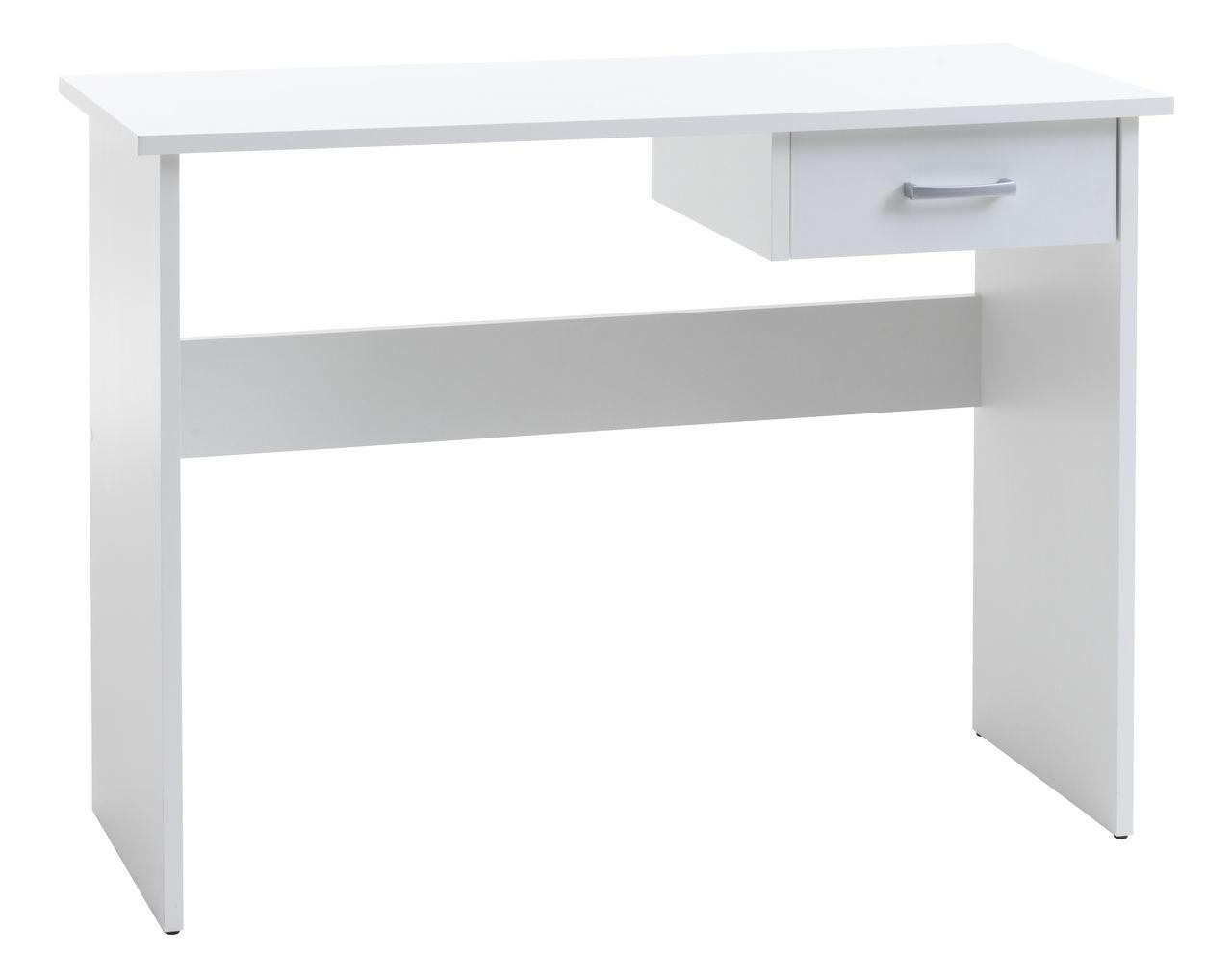 b90ea79695df Písací stôl KARUP 40x100 biela