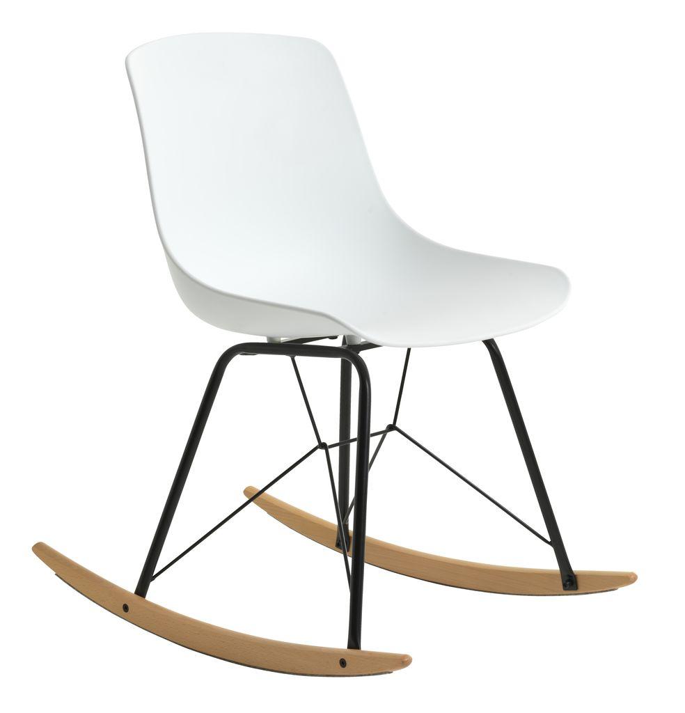 Krzeslo Bujane Langesund Bialy Buk Jysk