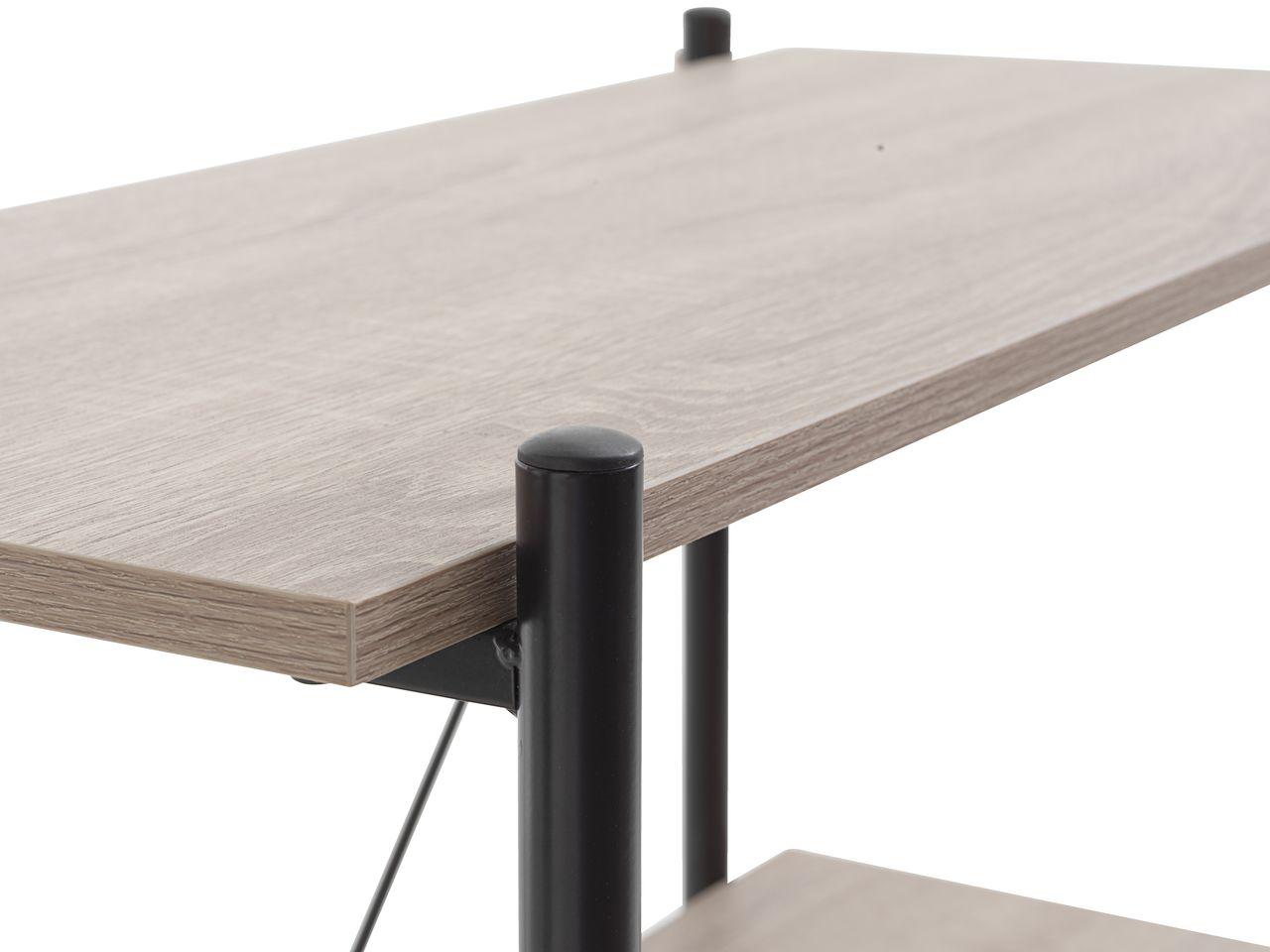 Skrivebord VANDBORG 60x120 eiksvart | JYSK