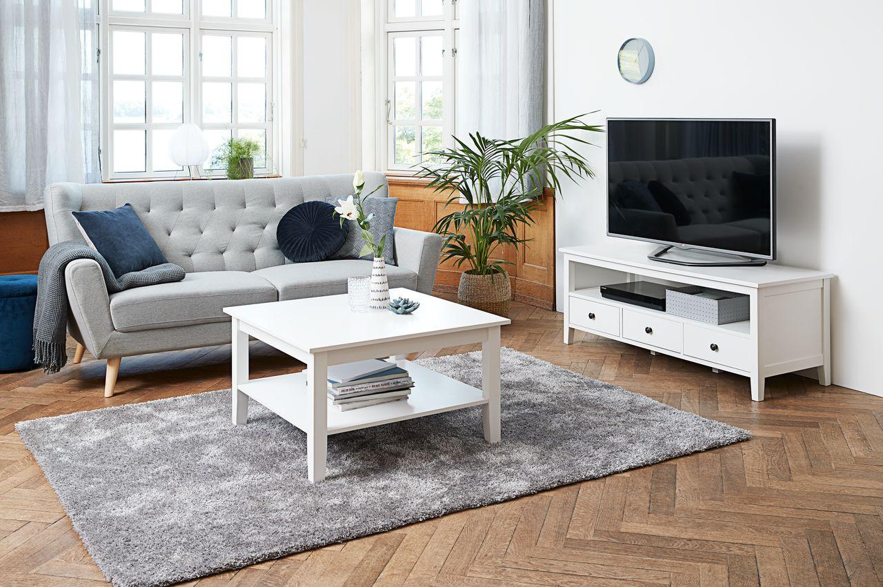 TV bord NORDBY hvid | JYSK