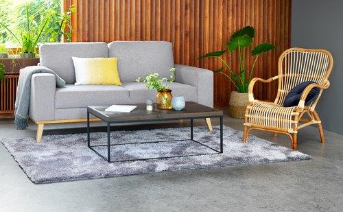 Sofa ARENDAL 2.5 seater light grey
