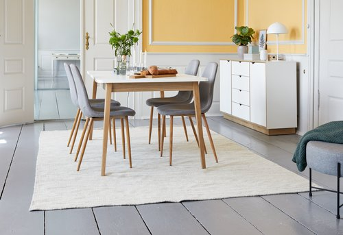Dining chair JONSTRUP grey/oak