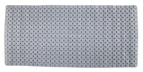 Non-slip bath mat VITTINGE 36x76 grey