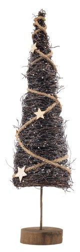 Χριστ.δέντρο BELI Υ54cm καφέ