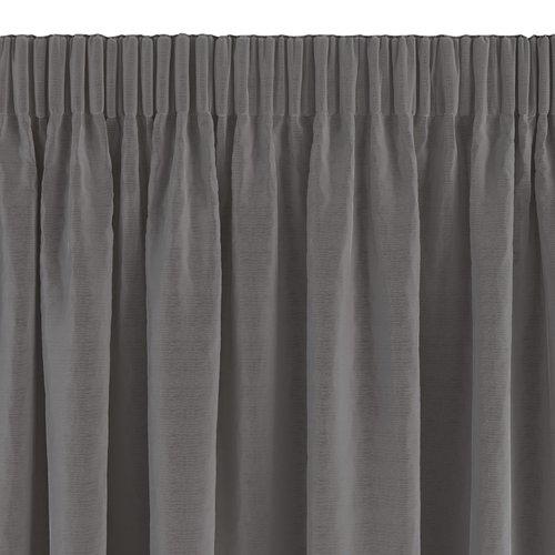 Gardin AUSTRA 1x140x245 fløyel grå