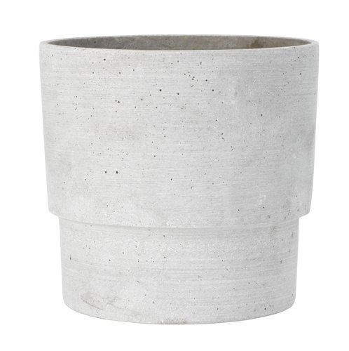 Vaso OTTO Ø16xH15cm grigio