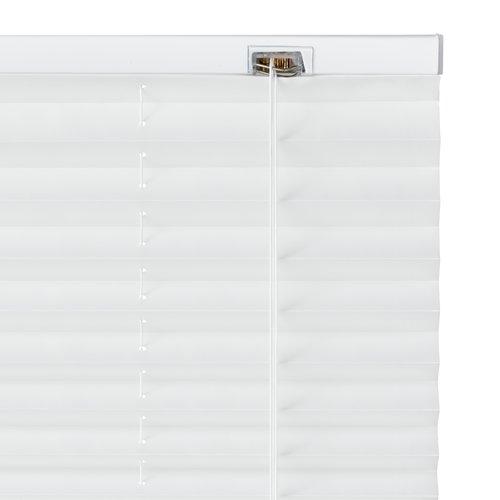 Plisségardin SALTHOLM 140x130cm hvid