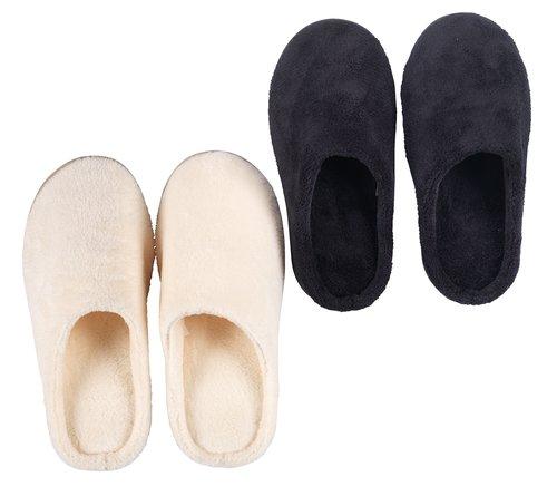 Pantoffels traagschuim HILMI 36-43 ass.