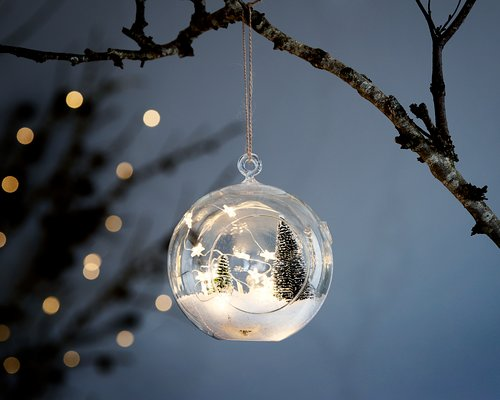 Julepynt KVASIR Ø18xH18cm