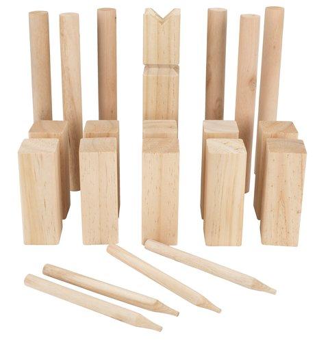 Spel OKERFLY kubb hout