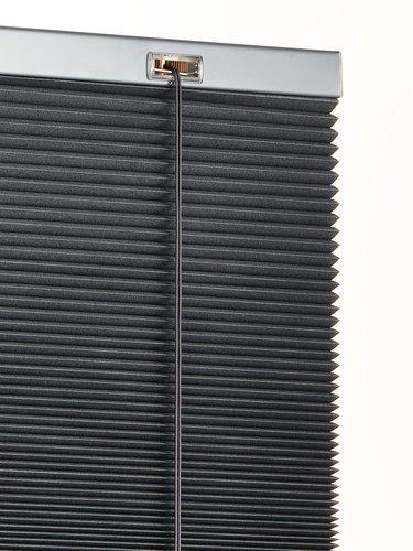 Plisségardin FUR 140x160cm mørklægning