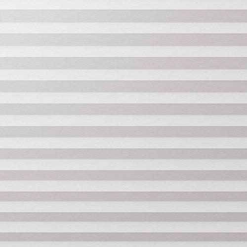 Plisségardin FYN 80x160 lysdemp hvit