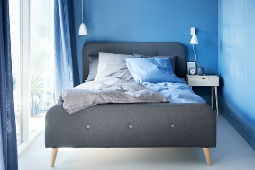 Bedding set KATJA KNG grey