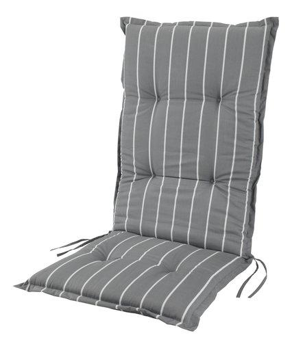 Vrtni jastuk pod. stolice TAGMARK siva