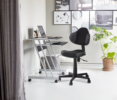 Bureaustoel REGSTRUP zwart/grijs