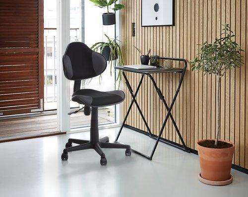 Scaun birou REGSTRUP negru/gri