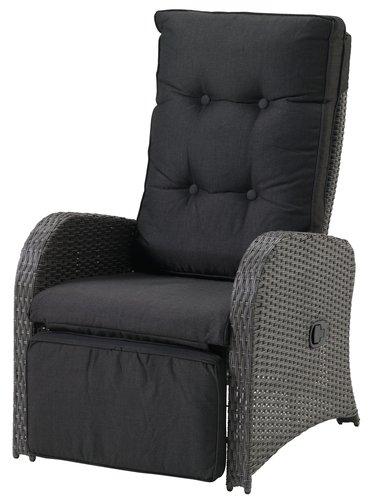 Krzesło pozycyjne STORD szary