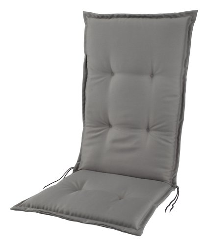 Cushion recliner chair SAKSFJED l.grey