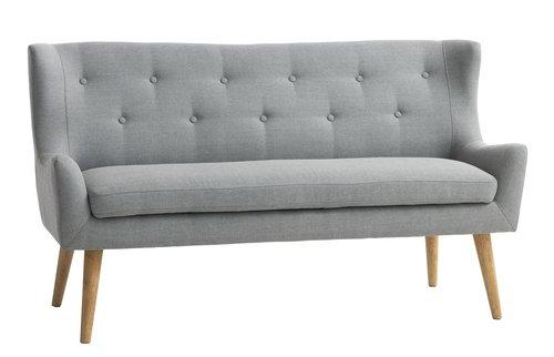 2-θέσιος καναπές SVELVIK ανοιχτό γκρι