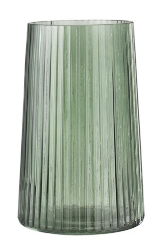 Vase ROY D13xH20cm glass green