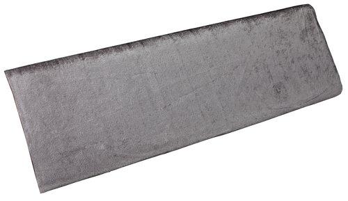 Nervøs fløyel GNIST 3 m/pk grå