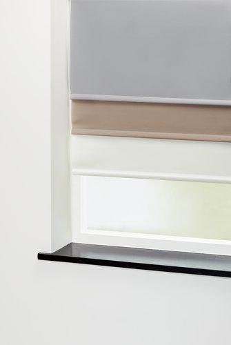 Roleta SENJA 90x210 cm šedá