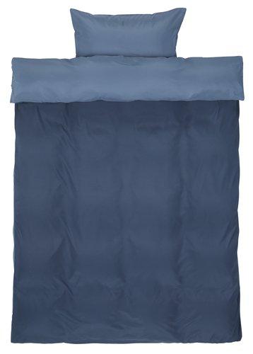 Påslakanset CATERINA Mikro SGL blå