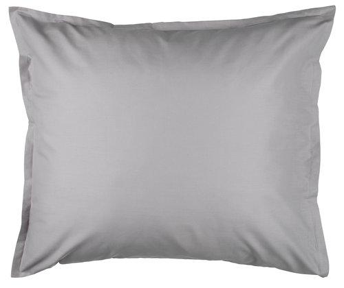 Kussensloop 60x63/70 licht grijs