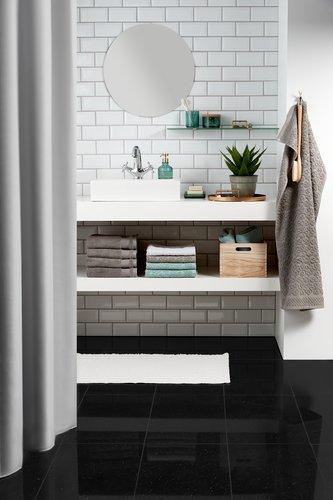 Bath towel STIDSVIG white KRONBORG