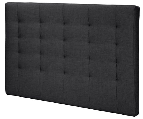 Sengegavl H50 STITCHED 180x125 grå-47